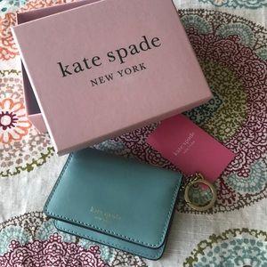 NWT Kate Spade ♠️ Key Chain Wallet